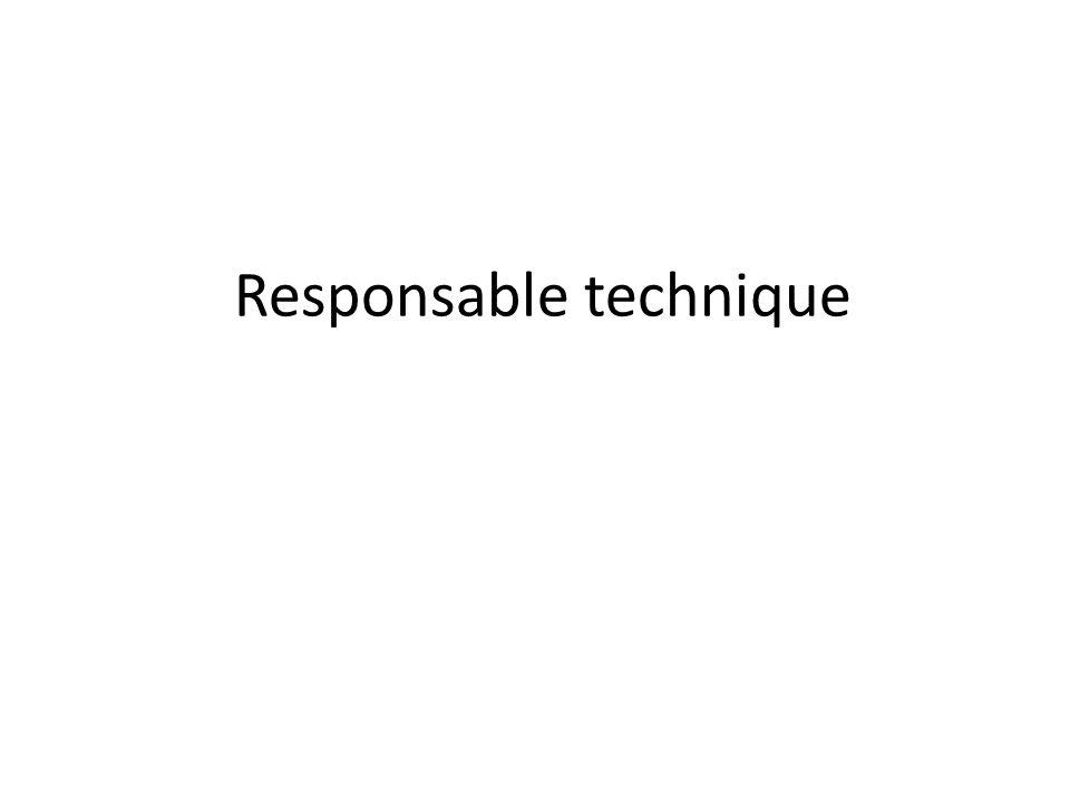 Le responsable technique: son rôle Responsable du site web collaboratif Responsable du site web final Recherche les outils à utiliser pour la veille et pour sa présentation (animation Flash, etc.)