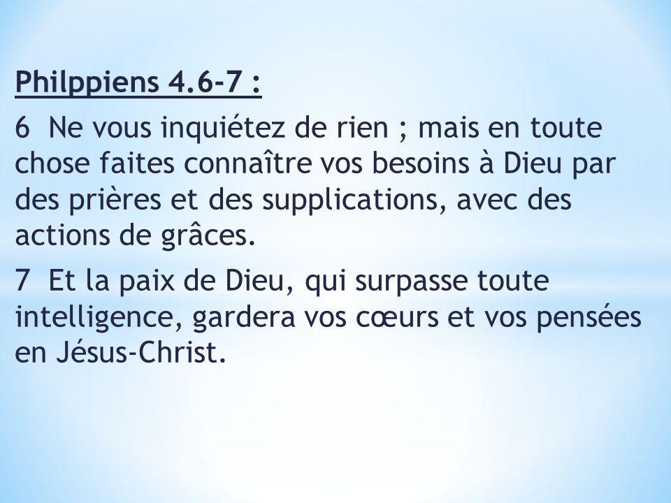 Marc 5.34-35 34 Mais Jésus lui dit : Ma fille, ta foi ta sauvée ; va en paix, et sois guérie de ton mal.