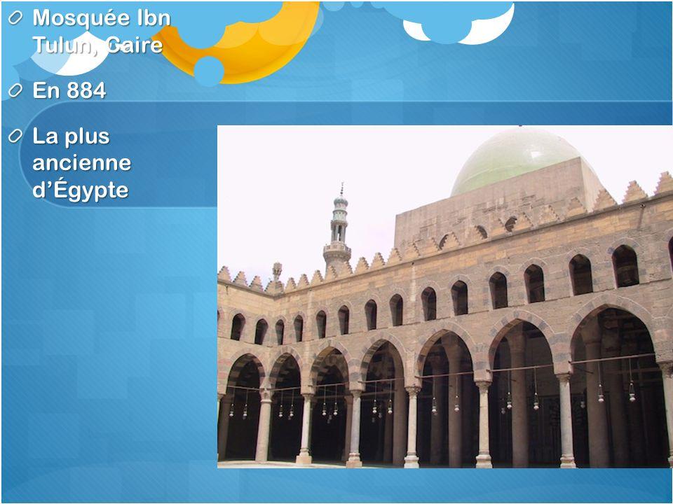 Mosquée Ibn Tulun, Caire En 884 La plus ancienne dÉgypte
