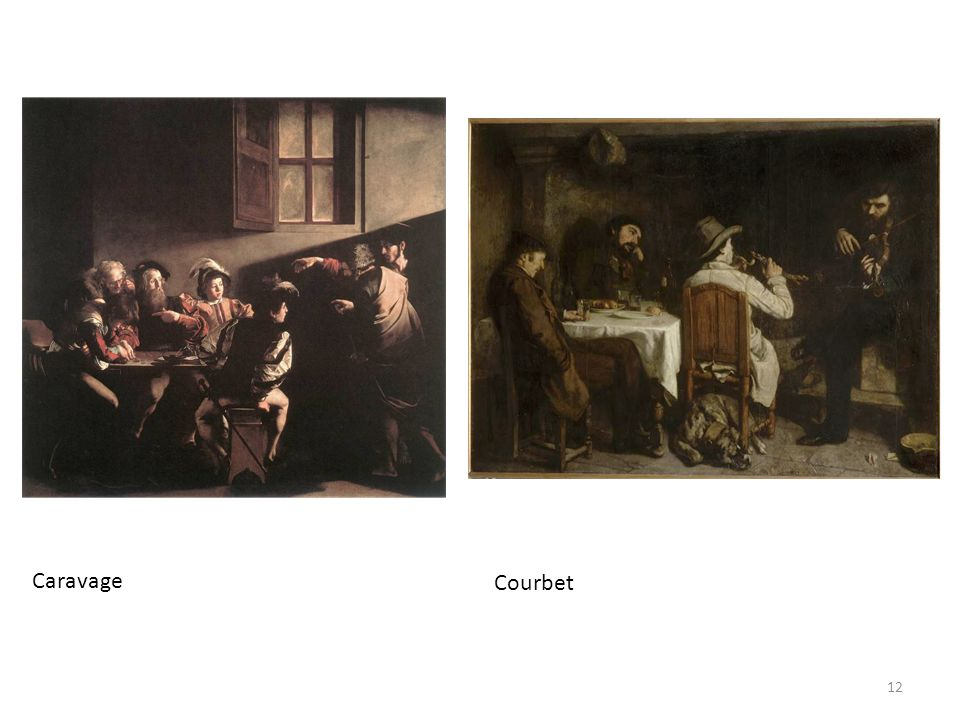 Caravage Courbet 12