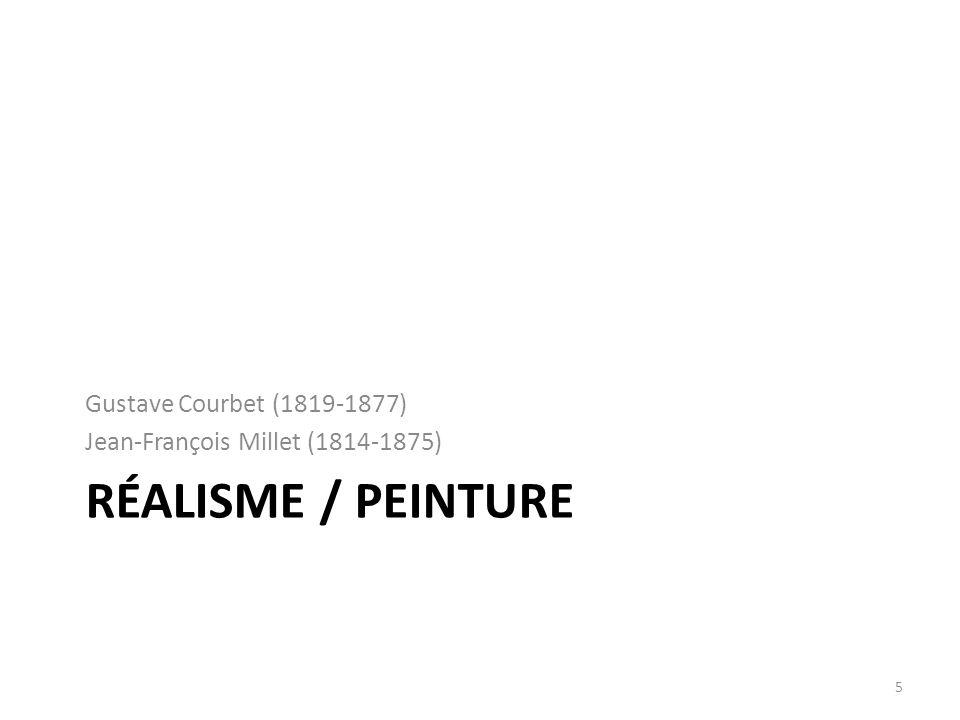 Gustave Courbet (1819- 1877) 1.Œuvres de jeunesse 2.