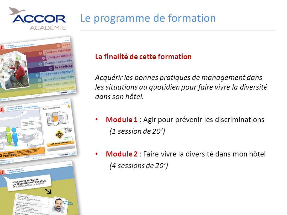 13Direction / Département - Nom de la Présentation - Septembre 2011 La finalité de cette formation Acquérir les bonnes pratiques de management dans le