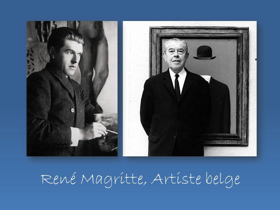 René Magritte, Artiste belge