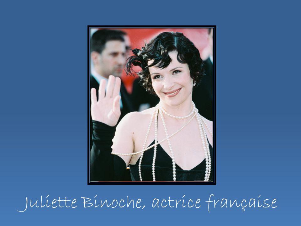 Juliette Binoche, actrice française
