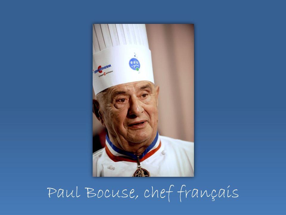 Paul Bocuse, chef français