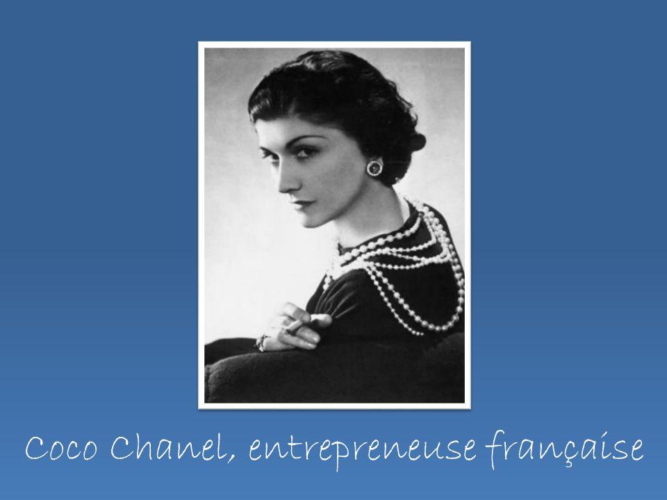 Coco Chanel, entrepreneuse française