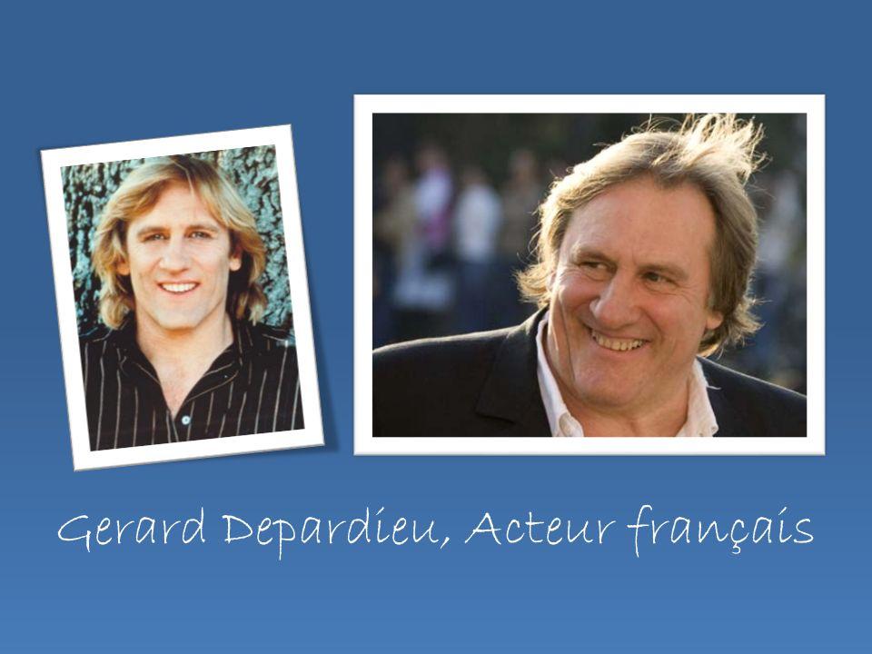 Gerard Depardieu, Acteur français