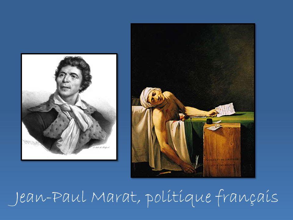 Jean-Paul Marat, politique français