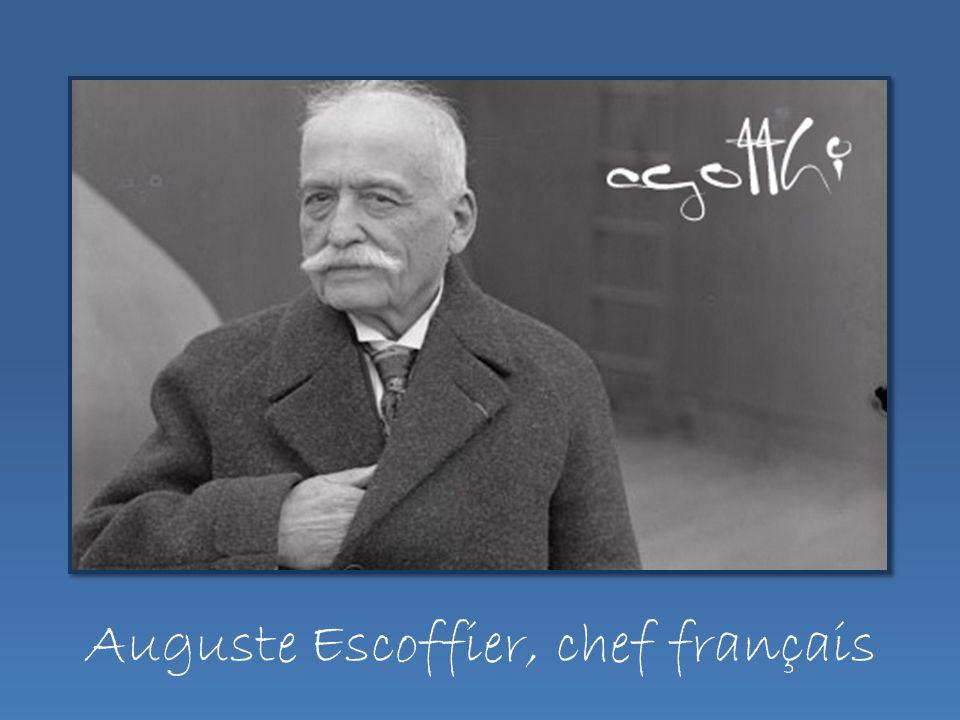 Auguste Escoffier, chef français