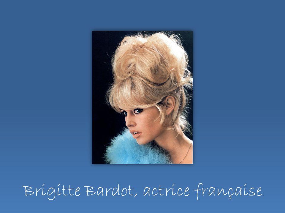 Brigitte Bardot, actrice française