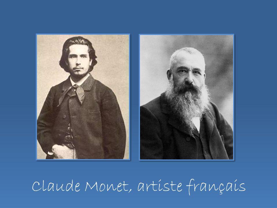 Claude Monet, artiste français