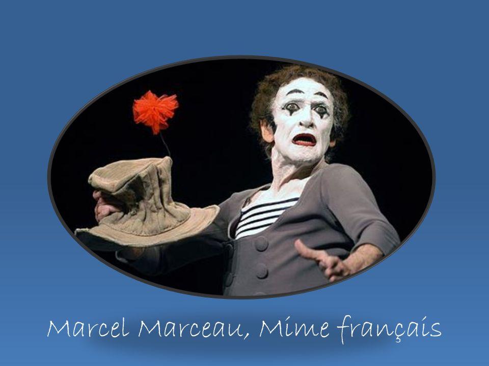 Marcel Marceau, Mime français