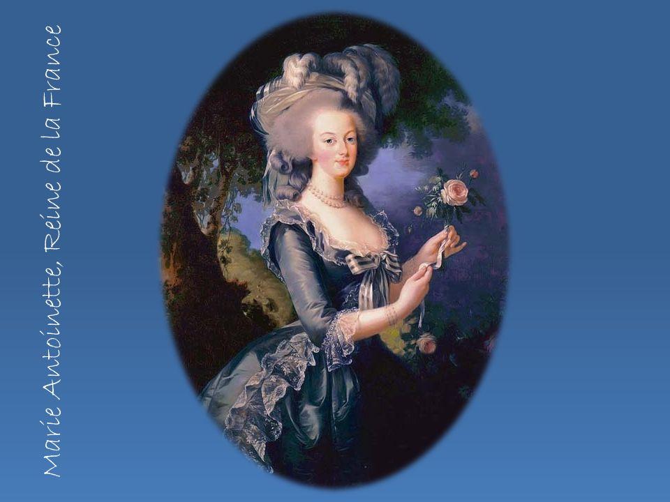 Marie Antoinette, Reine de la France