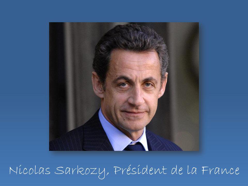 Nicolas Sarkozy, Président de la France