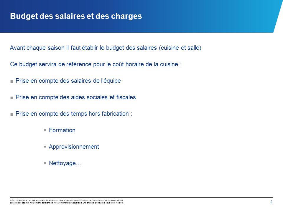 3 © 2011 KPMG S.A., société anonyme dexpertise comptable et de commissariat aux comptes, membre français du réseau KPMG constitué de cabinets indépend