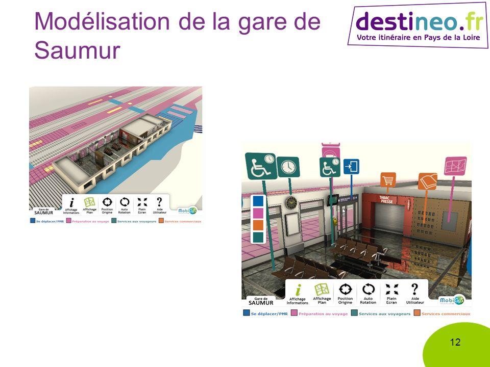 Modélisation de la gare de Saumur 12