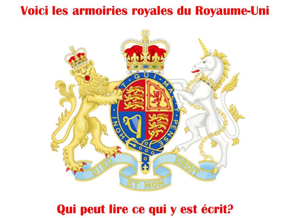 La Famille Royale, une des plus ancienne monarchie dans le monde La reine Elizabeth II Son fils, Charles Son petit-fils, William Son arrière petit-fil