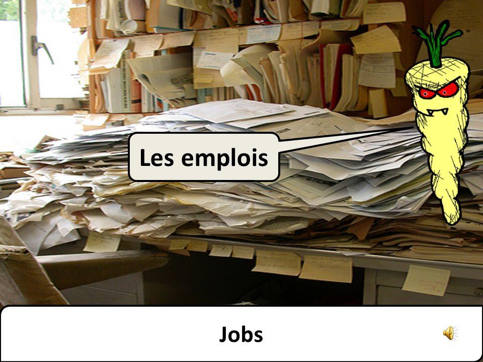 Les emplois Jobs