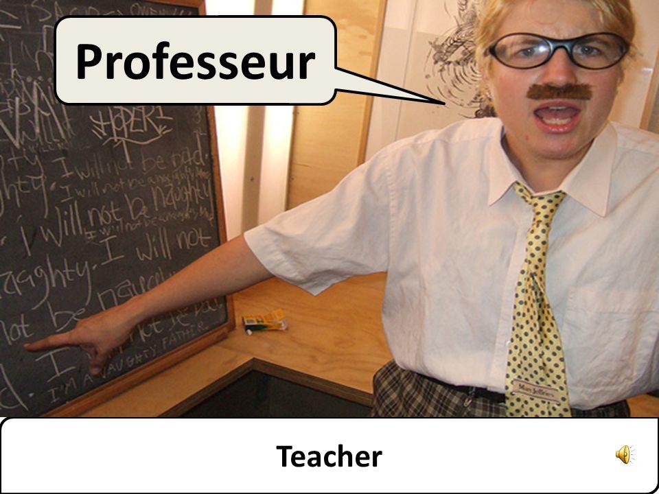 Teacher Professeur