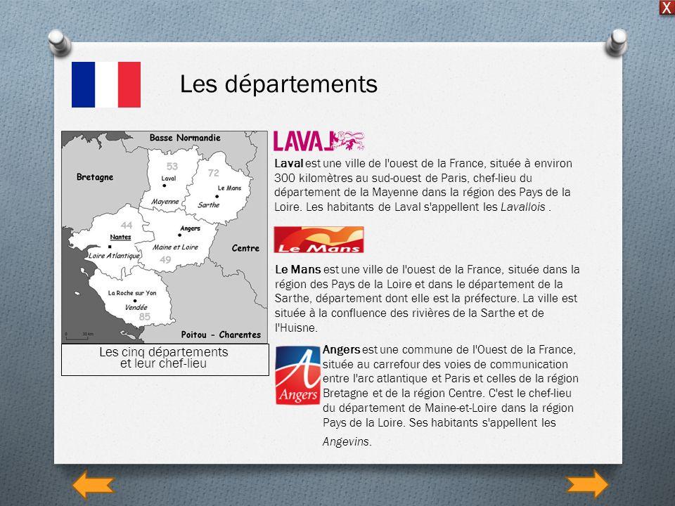 Laval est une ville de l'ouest de la France, située à environ 300 kilomètres au sud-ouest de Paris, chef-lieu du département de la Mayenne dans la rég