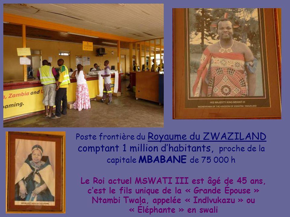 Au Zulu Nyala Heritage Safari Lodge Les habitations des employés du Lodge