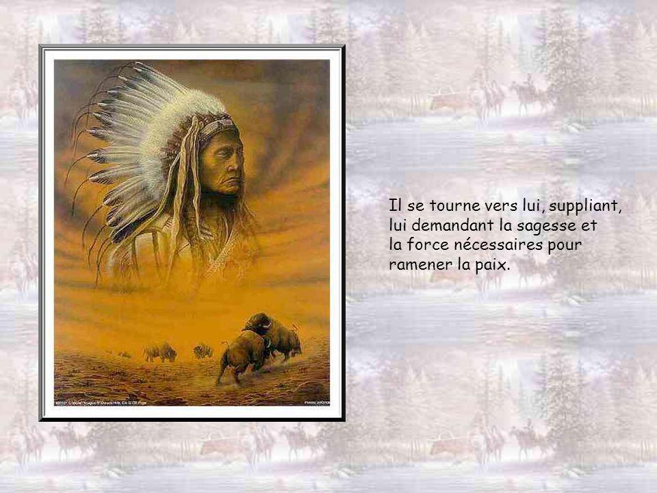 Mais pourtant le cœur de Shénandoah est inquiet. La guerre entre blancs et indiens éclate sans cesse en escarmouches souvent meurtrières : le grand Es