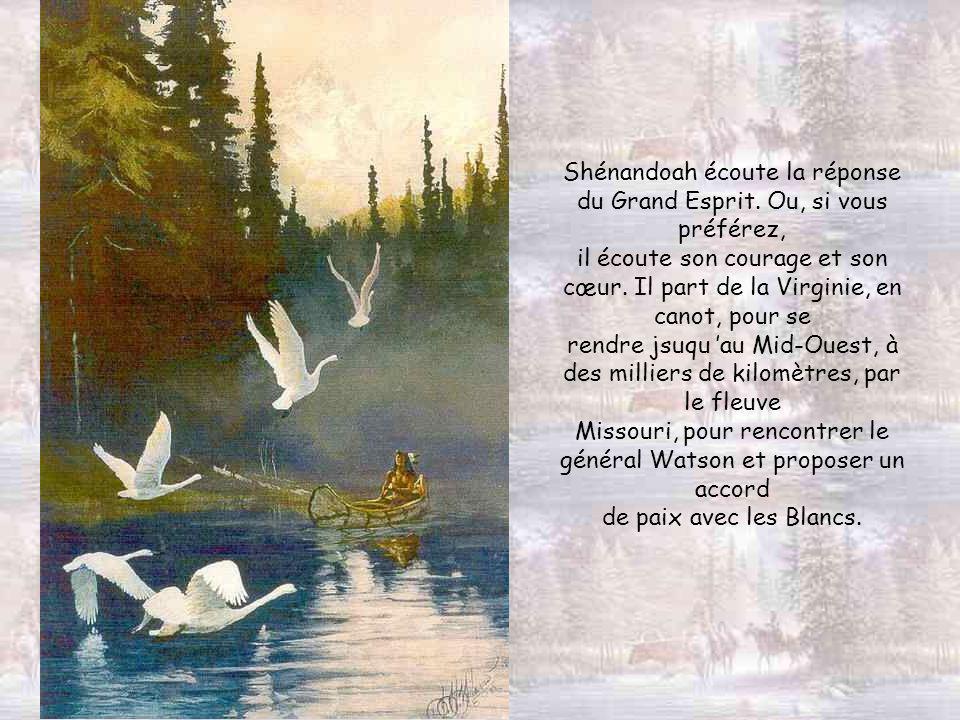 Est-ce l aigle qui a apporté la réponse à Shénandoah ?