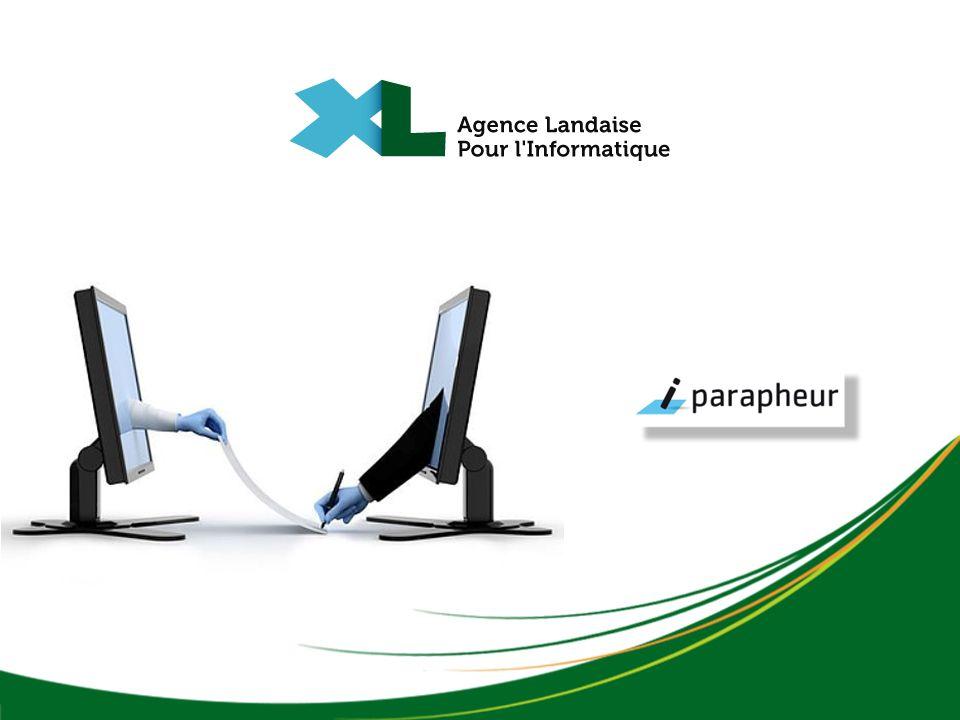 i-PARAPHEUR i-Parapheur permet la circulation de documents au travers dun circuit de validation comportant des phases successives de visa(s), de signature(s) apposés sur un ou plusieurs documents.