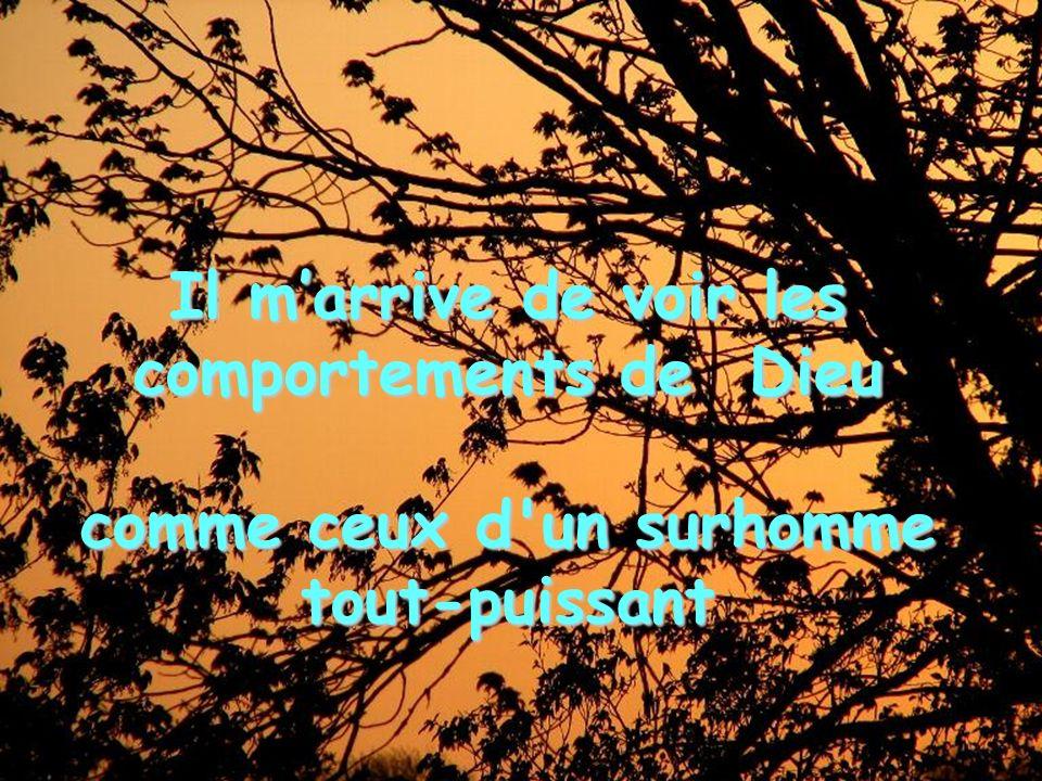 Heureux ceux qui comptent sur lamour dun Père plus que sur la force d un Tout-Puissant.