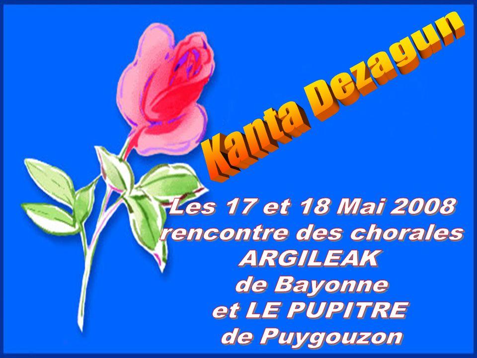 Argileak / Le pupitre Dirigée par le chef de chœur Christine Michiels, la chorale le pupitre fait partie intégrante de l école de musique PULSAR de Puygouzon.