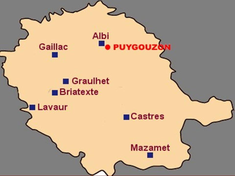 Puygouzon Puygouzon est une petite commune du Tarn.