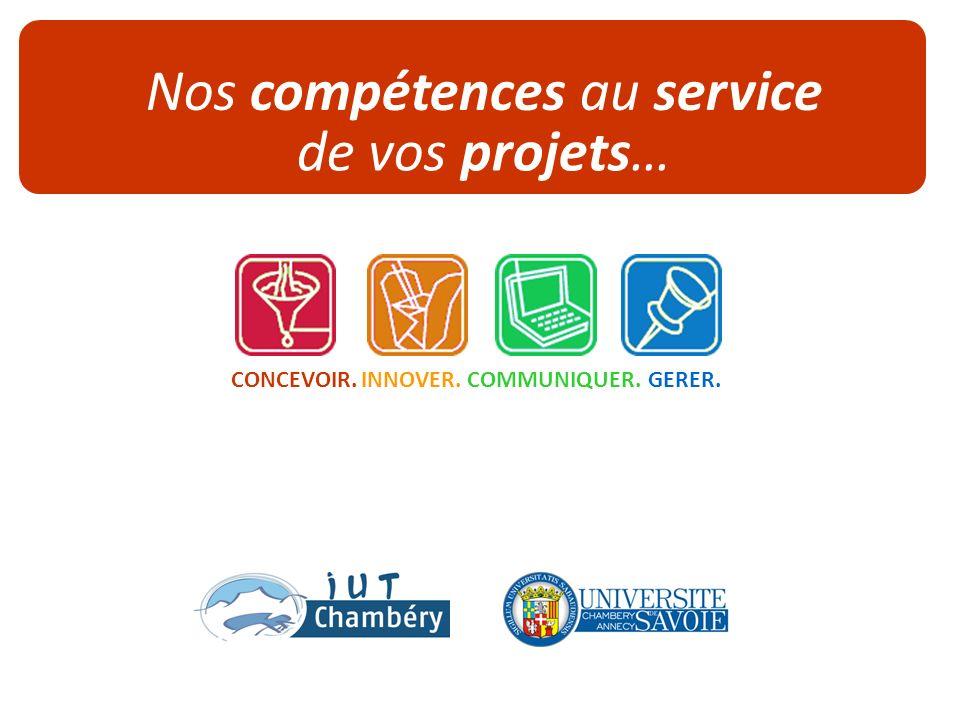 www.iut-chambery.com - Jenny.legrand@univ-savoie.fr- T.04 79 75 81 75 – Année 2009-10. Page 1 Nos compétences au service de vos projets… COMMUNIQUER.I