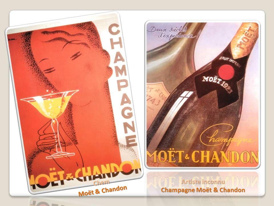 Chem Moët & Chandon Artiste inconnu Champagne Moët & Chandon