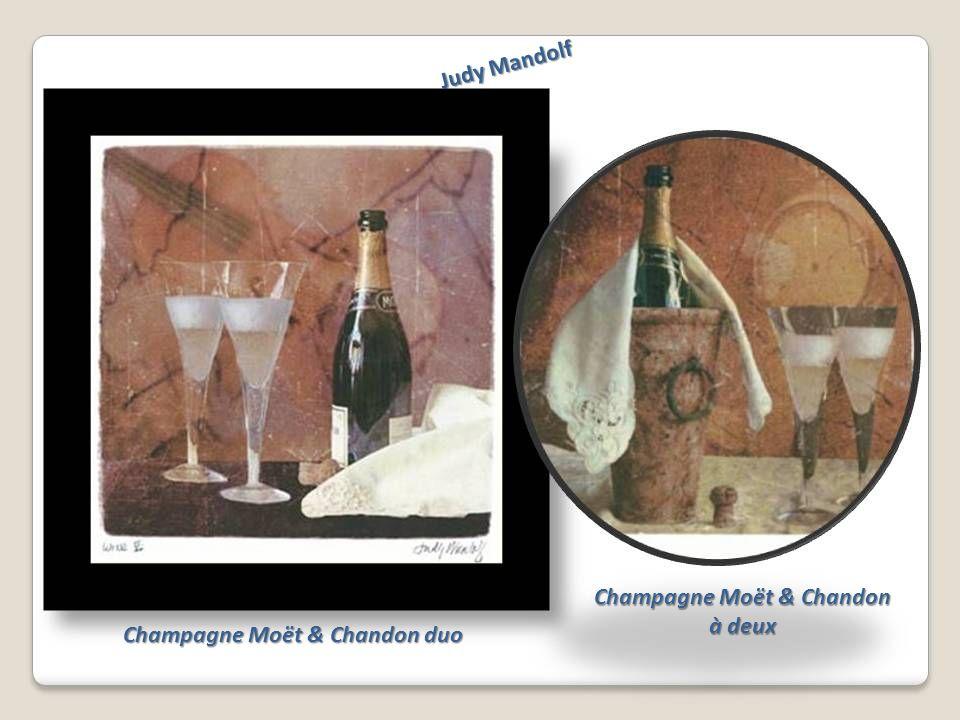 Judy Mandolf Champagne Moët & Chandon duo Champagne Moët & Chandon à deux