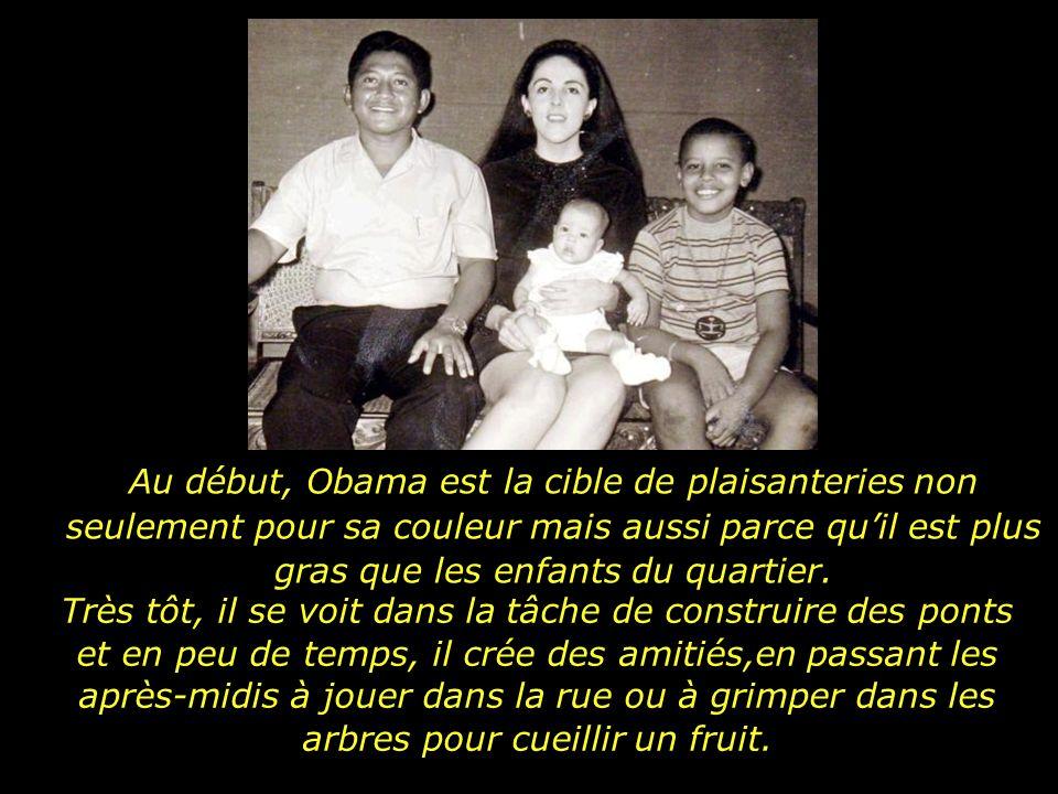 Lorsque Barack Obama a six ans, la famille décide de déménager à Jacarta capitale de lIndonésie.