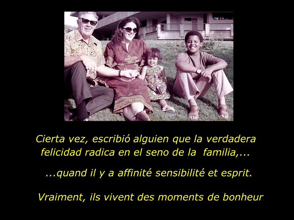 Père et filleMère et garçon, Grands-parents et petits-enfants, Toutes les familles sont semblables, ce qui change ce sont les histoires....