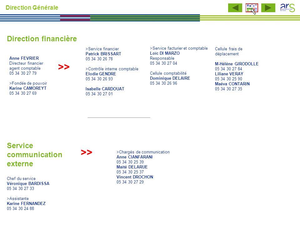 >Chargés de communication Anne CIANFARANI 05 34 30 25 39 Maïté DELARUE 05 34 30 25 37 Vincent DROCHON 05 34 30 27 29 >> Service communication externe