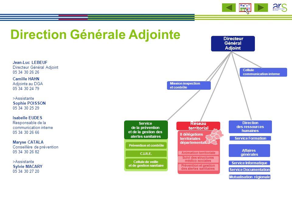 Jean-Luc LEBEUF Directeur Général Adjoint 05 34 30 26 26 Camille HAHN Adjointe au DGA 05 34 30 24 79 >Assistante Sophie POISSON 05 34 30 25 29 Isabell