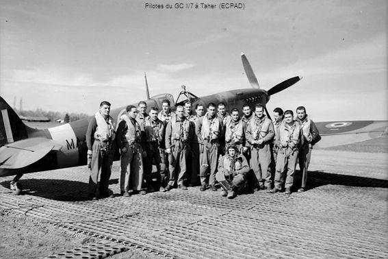 Lt Pierre Le Gloan, as de guerre, mort en novembre 1943 à Ouillis, près de Mostaganem (Raymond Macia) P-39 de la 2ème escadrille du GC III/6 (Raymond Macia)