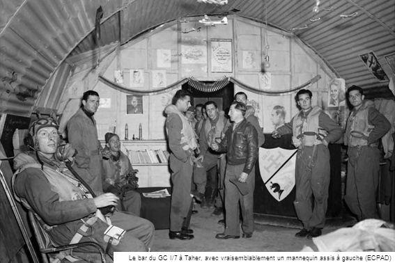 Cne Demoulin tué en Italie en novembre 1944 (Raymond Macia) Le Lt pilote oranais Paul Roig (Raymond Macia)