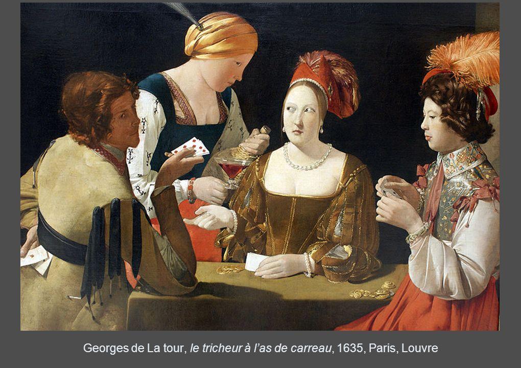 Georges de La tour, le tricheur à las de carreau, 1635, Paris, Louvre