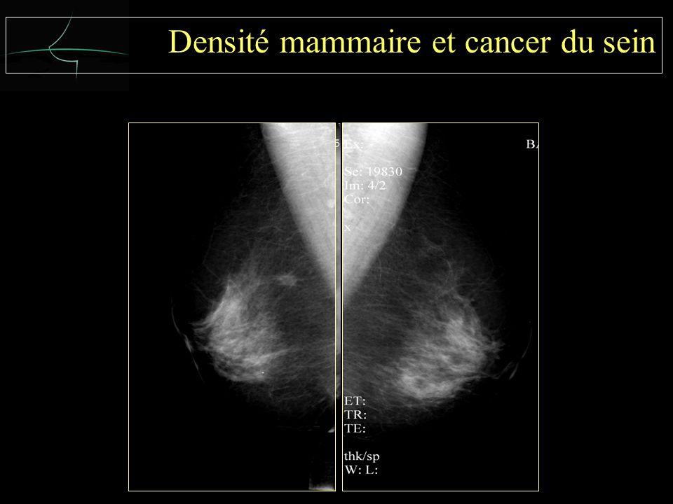 Densité mammaire et cancer du sein