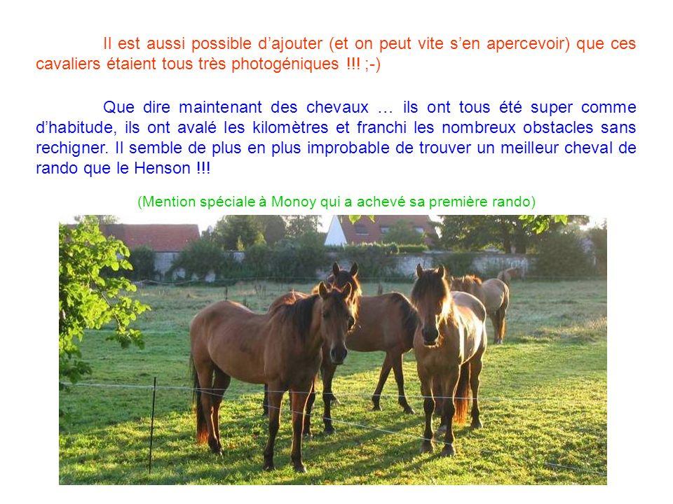 Il est aussi possible dajouter (et on peut vite sen apercevoir) que ces cavaliers étaient tous très photogéniques !!.