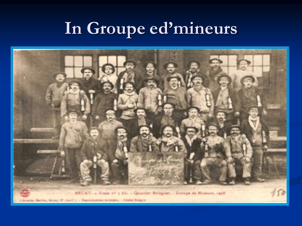 In Groupe edmineurs