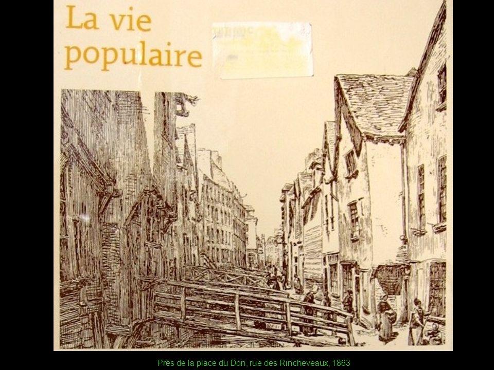 Près de la place du Don, rue des Rincheveaux, 1863