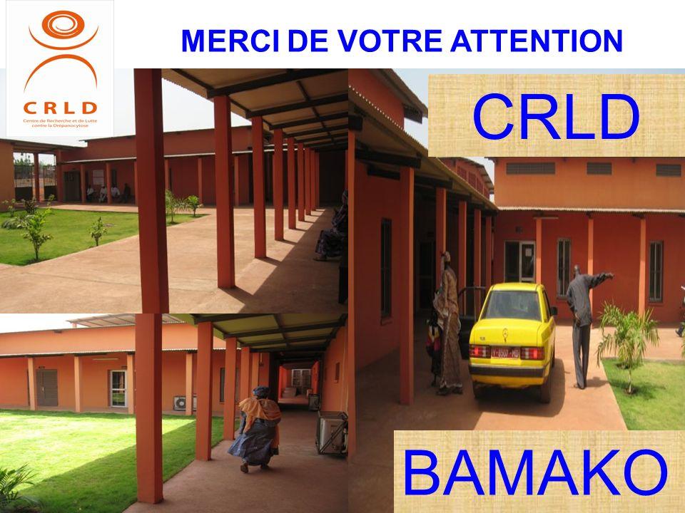 CRLD MERCI DE VOTRE ATTENTION BAMAKO
