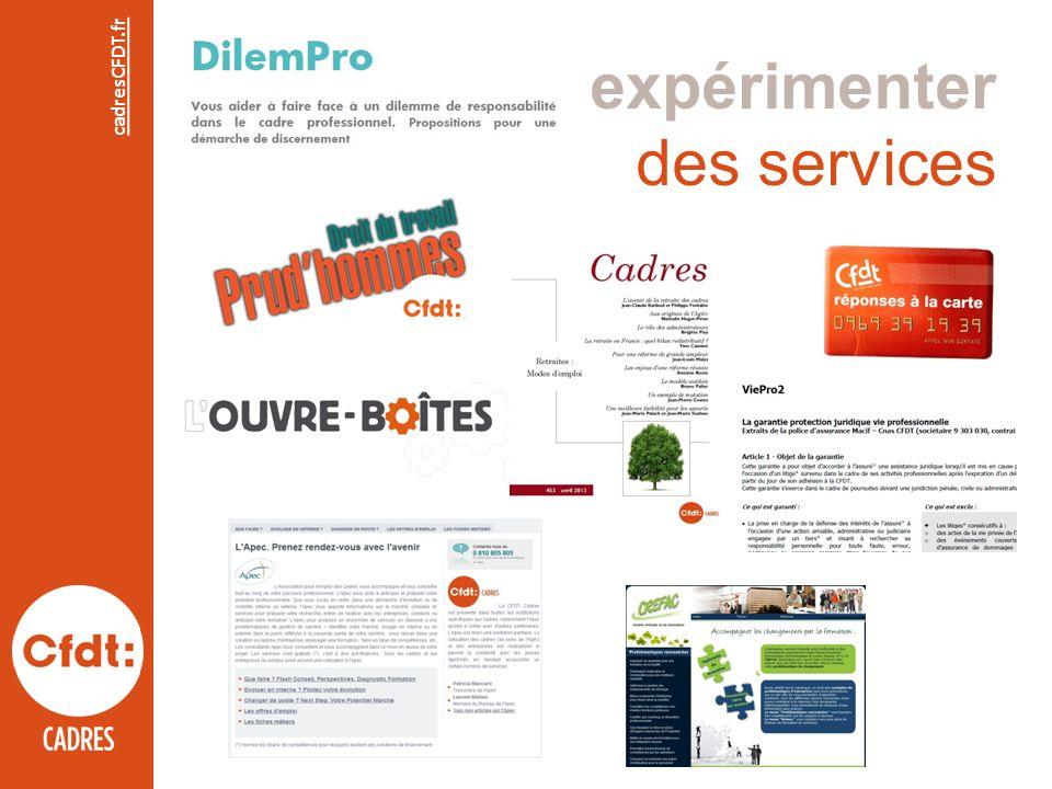 expérimenter des services cadresCFDT.fr