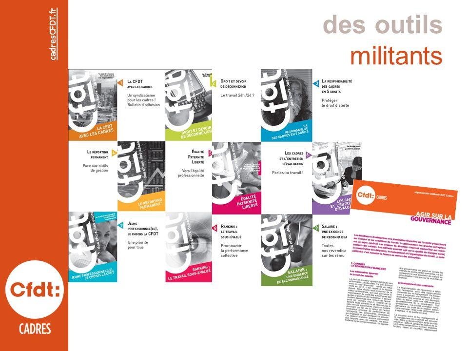 des outils militants cadresCFDT.fr