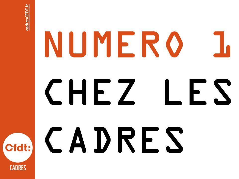 NUMERO 1 CHEZ LES CADRES