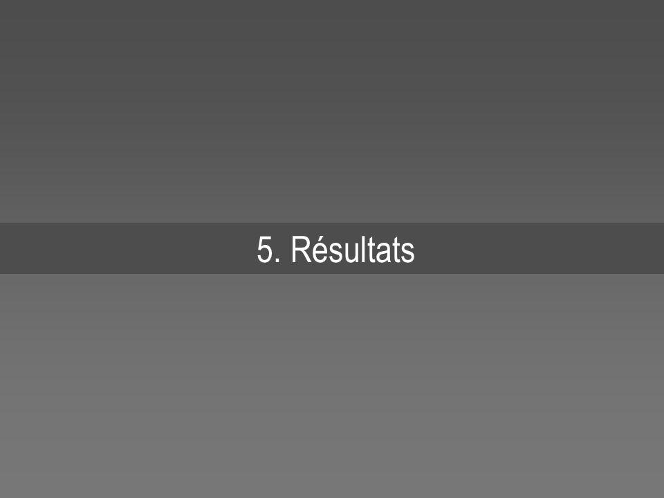 5. Résultats